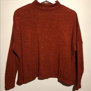 H&M oversized turtleneck sweater (S)